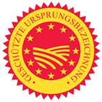 EU Logo für einen geschützten Ursprung